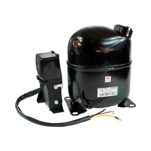 Aspera / Embraco NJ2192GK Refrigeration Compressor R404a LBP  26CC 1.2Hp Tube 240V~50Hz